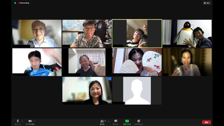 8月18日第360回英語(小道具)例会/ Aug 18th 360th English (Prop) Meeting